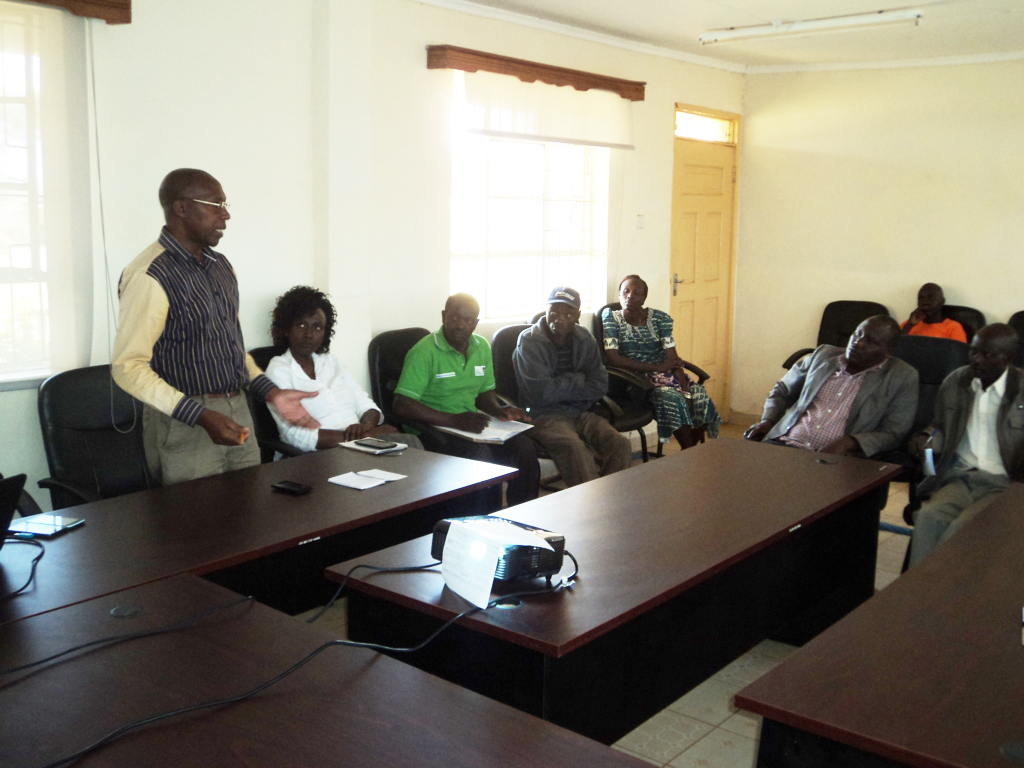 During a recent Local Stakeholders meeting in Endebess