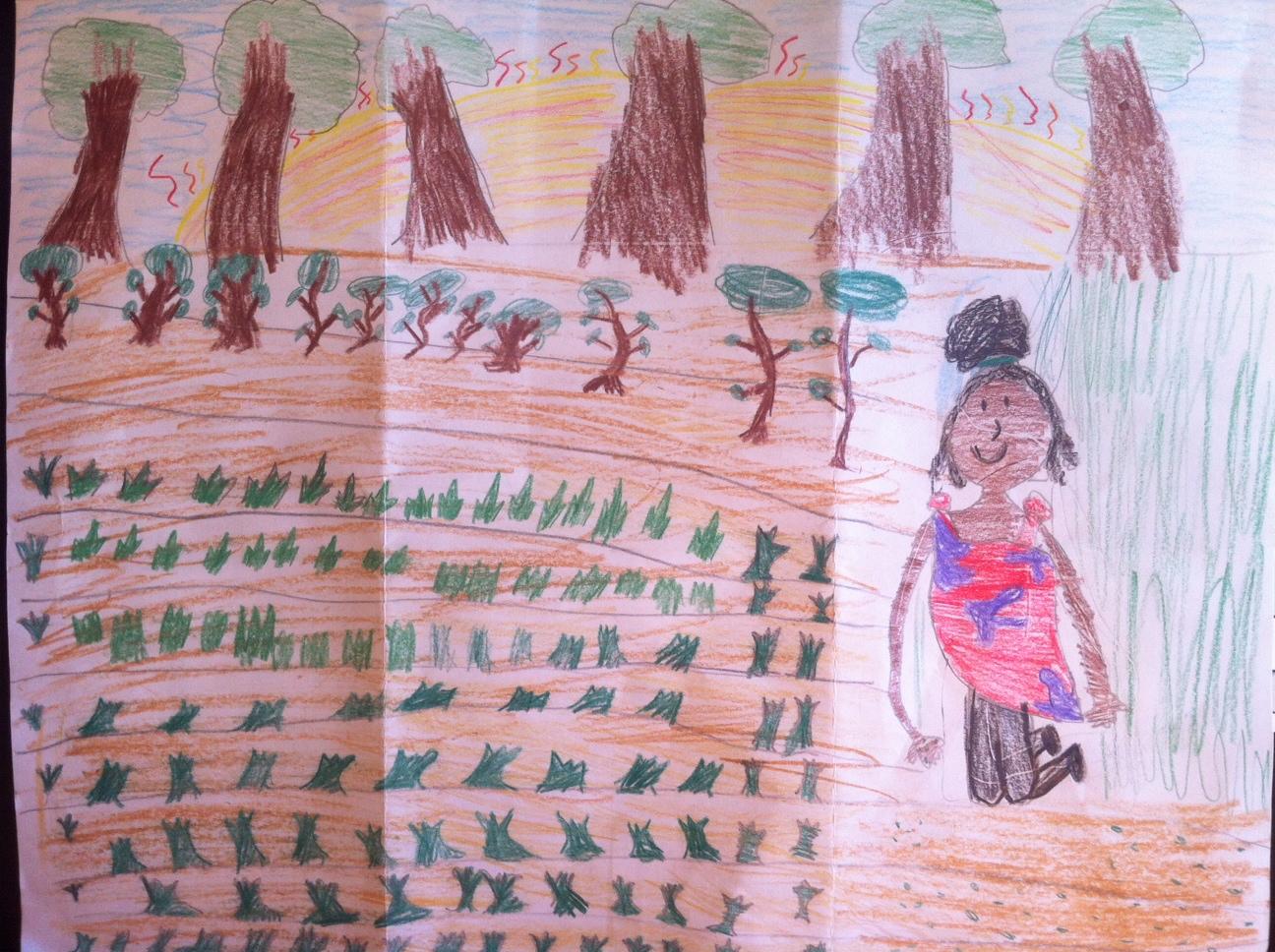 John Lyman Elementary School Student Drawing