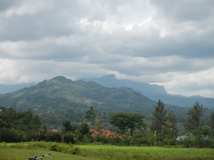 Mt Elgon from Mbale, Uganda