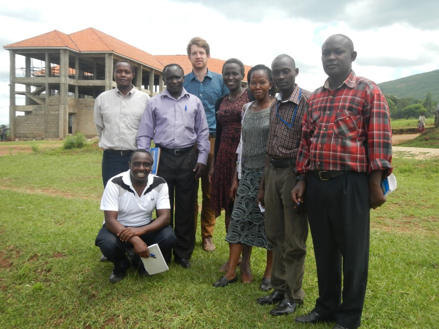GBM, NC, ECOTRUST and Mbale District government officers